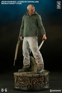 JASON VOORHEES LEGEND OF CRYSTAL LAKE EXCLUSIVE PF STATUE SIDESHOW FRIDAY 13TH