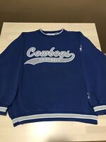 DALLAS COWBOYS - Vintage 90s STARTER Pull Over Sweater - Size Large