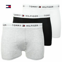 New in Box (3) Three Pack Men's Tommy Hilfiger Cotton Stretch Boxer Brief Trunks