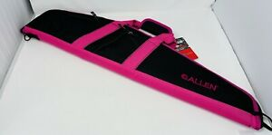 """Allen Springs Compact Scoped Rifle Case  Zipper 32"""" Pink Black Padded Fits Scope"""