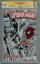 SENSATIONAL SPIDER-MAN 35 NYC CGC 9.8 SIGNATURE SERIES SIGNED x2 STAN LEE SKETCH