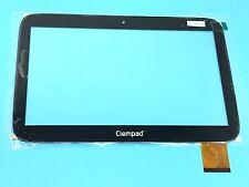 """schwarz Touchscreen Glas Digitizer Für 9 """"Clementoni Clempad XL 6,0 12242 Tablet"""