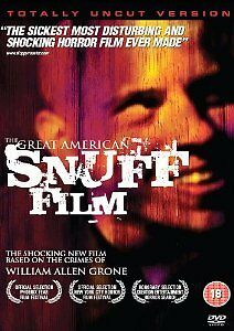 THE GREAT AMERICAN SNUFF FILM  -  BRAND NEW & SEALED {DVD}
