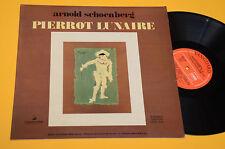 SCHOENBERG LP PIERROT LUNAIRE ORIG ITALY 1969 EX+ ! AUDIOFILI TOP CLASSICA