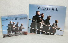 Westlife Greatest Hits Taiwan Ltd 2-CD+DVD+Calendar w/BOX