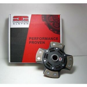 Competition Clutch 4 Puck Sprung for Mazda Turbo 2 II RX7 B2600 MX6 1X23