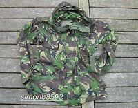 UK BRITISH ARMY SURPLUS G1 ISSUE WOODLAND S95 DPM CAMO WINDPROOF SMOCK-SAS/PARA/