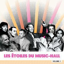 CD Les Etoiles du Music-Hall - Vol1 - Montand, Piaf, Trénet, Gréco, Mouloudji...
