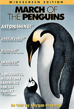 March of the Penguins (NEW DVD, Widescreen) National Geographic - Morgan Freeman