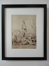 Zibhebhu kaMaphitha Zulu Chief Africa by Lloyd of Durban circa 1880