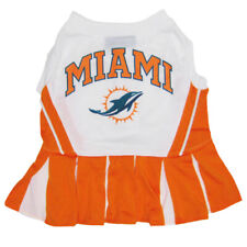 Miami Dolphins NFL Pets First Cheerleader Dog Dress Sizes XS-M