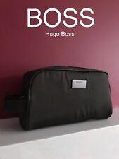 🆕 💙 Diseñador De Hugo Boss Para Hombre Neceser de Lavado de Viaje Beauty Case!!!! nuevo!!!