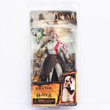 NECA Player Select God of War 2 II Kratos  with Medusa Head
