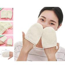 Reusable Microfiber Facial Cloth Face Towel Makeup Remover Cleansing Glove 1pc