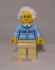 Lego Grandmother / Grandma from set 60134 Fun in the Park Town / City NEW cty660