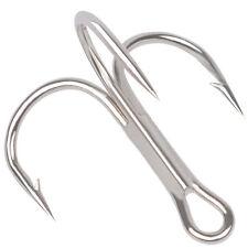 50 Pcs Fishing Hook High Carbon Steel Sharp Treble Hooks Fishhook Tackle Nifty