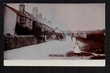 Elwell - Village street - real photographic postcard
