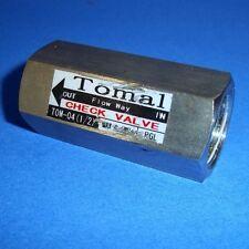 "TOMAL T0M-04 CHECK VALVE ½"""