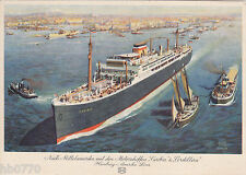 AK Nach Mittelamerika mit den Motorschiffen Caribia & Cordillera, Hamburg USA L.