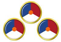Royal Pays-Bas Air Force (Koninklijke Luchtmacht) Cocarde Balle de Golf Marqueur