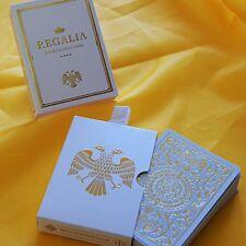 Mazzo di carte Regalia White Playing Cards by Shin Lim - Carte da Gioco
