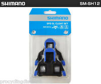 NEW GENUINE Shimano SPD-SL Pedal Cleats 2° Degree Float Dura Ace Ultegra SM-SH12