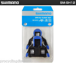 NEW GENUINE Shimano SPD-SL Pedal Cleats 2° Degree Float Dura Ace Ultegra SM-SH12