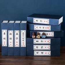 4pcs Retro Books Decor Display Simulation Fake Book Housing Office Book Box Prop