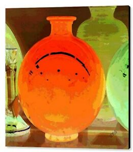 "Window Shopping For Glass, by Ben & Raisa Gertsberg, 36""x36"", Print on Canvas"