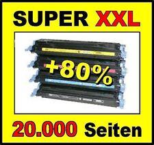 4 cartouche d'encre pour HP Color LaserJet CP2025 CM2320NF comme CC530A CC531A