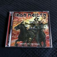 IRON MAIDEN -  DEATH ON THE ROAD - 2 CD 2005 - cd heavy metal