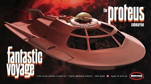 1/32 Moebius Fantastic Voyage The Proteus Model Kit #963