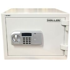 Hollon Safe 2-Hour Fire Home Electronic Safe 1 Cubic Foot - White HS-360E