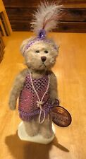 """Brass Button Bears """"Daisy"""" 1920""""s Version Collectible Bear w/ Stand 092612"""