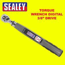 "Sealey 3/8"" SQ DR digital electrónico dinamométrica 8Nm-85Nm 5.9-62.7lb.ft STW308"