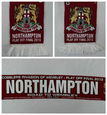 2013 UK Northampton Cobblers Invasion of Wembley Play Off Final Football Scarf