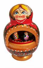 Boite à musique Fait Main -Matriochka -Cadeau Souvenir Russe