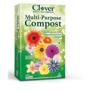 MULTI PURPOSE COMPOST 60lt Clover Quality with FREE NEXT DAY DPD DELIVERY