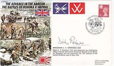JS/50/44/2c Allied Advance in the Arakan.Special SignedBrig.L.F.Richards involve