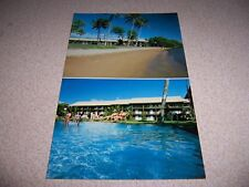 1983 MOLOKAI SHORES CONDOMINIUM RESORT KAUNAKAI HAWAII VTG POSTCARD