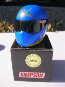 Blaine Johnson Limited Signature Edition Simpson Mini Helmet NHRA
