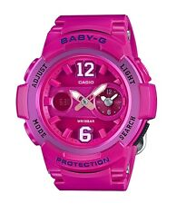 Casio Baby-G * BGA210-4B2 Dual Dial Pink Anadigi Watch COD PayPal Ivanandsophia