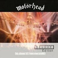 MOTÖRHEAD - NO SLEEP 'TIL HAMMERSMITH (DELUXE EDITION) 2 CD++++++++++++ NEW+