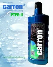 carron® Hochglanz Versiegelung Dusche Duschkabine Duschwand gegen Kalk u Schmutz