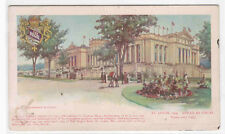 US Government Building St Louis World Fair 1904 Missouri Regal Shoe PMC postcard