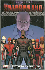 Shadowland TPB 2011 graphic novel VF Daredevil Spider-man Moon Knight Avengers