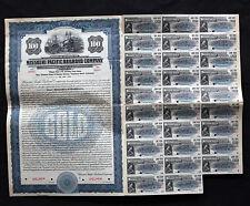 Missouri Pacific Railroad Company $100 Sinking Fund Note 1924