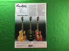 Hagstrom Swede Electric Guitar full colour advert HG803 Swede