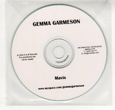 (GP320) Gemma Garmeson, Mavis - 2009 DJ CD