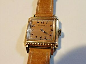 Ladies'  Longines Gold Toned Watch
